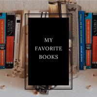 MY FAVORITE BOOKS.